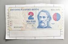 CrazieM World Bank Note - 1992 Argentina 2 Pesos - Collection Lot m437