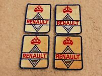Lot of 4 Unique Vintage Renault Car Manufacturer Uniform Patch