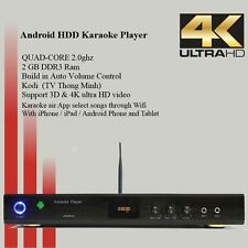 4k Android KTV-8868E karaoke player 5tb harddrive 40000 Vietnamese English songs