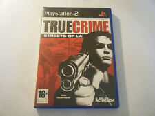 True Crime Streets Of LA - Sony PlayStation 2 - Complet - Occasion - PAL