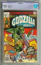 GODZILLA #9 CBCS 9.8 WHITE PAGES