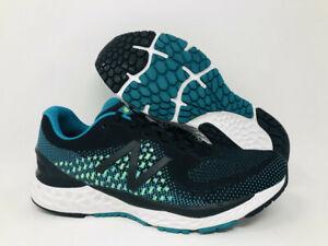 New Balance Men's 880 v10 Running Shoes, Black/Teal/Lime, 11.5 D(M) US