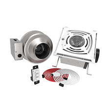 Fantech Serenity Solo - 180 CFM - Bathroom Exhaust System - Ceiling Mount - 4...