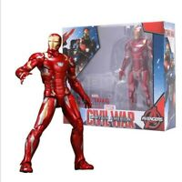 "Marvel toys 7"" Avengers Civil War iron Man Action Figure with Stand Toy Collect"