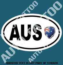 AUSTRALIA COUNTRY CODE DECAL STICKER CAR TRUCK RALLY EURO STYLE DECLS STICKERS