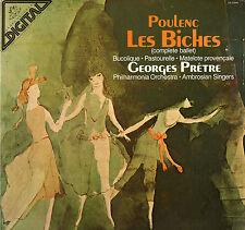 CLASSICAL LP POULENC LE BICHES GEORGE PRETRE