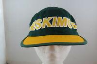 Edmonton Eskimos Painter Hat (VTG) -  By Starter - Adult One Size Fits All