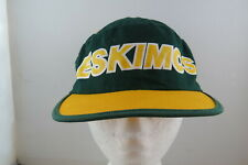 Edmonton Eskimos Painter Hat (VTG) -  By Starter - Adult One Size Fits All