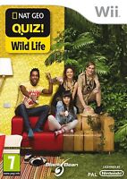 NATIONAL GEOGRAPHIC FAMILY QUIZ WILD LIFE GAME NINTENDO WII NEW & SEALED