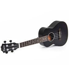 Kmise Professional 23 Inch Concert Ukulele Acoustic Hawaii Guitar Sapele Black