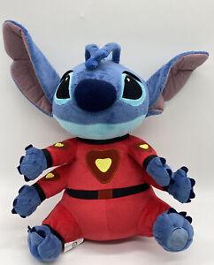 Disney Store Lilo Stitch Plush Red Alien Space Suit 6 Arms Stuffed Animal