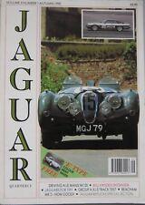 Jaguar Quarterly magazine Autumn 1990 Vol.3 , No.1