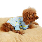 Pet Dog Clothes Small Jumpsuit Pajama For Dog Cotton Soft Cozy Puppy Cat Shirt