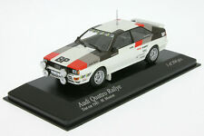 1:43 AUDI QUATTRO-Mouton-Rally TESTCAR 1981-Minichamps 430811900