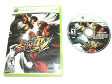 Street Fighter IV (Microsoft Xbox 360, 2009) No Scratch on the CD