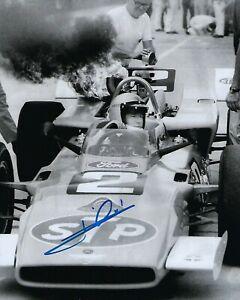 GFA Formula One IndyCar Champion MARIO ANDRETTI Signed 8x10 Photo COA