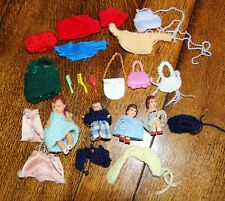 Vintage Dolls House Dolls, Clothes & Accessories 1/16th Scale. ARI Germany