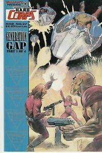 H.A.R.D. CORPS #27 1995 -GENERATION GAP P1/4 BARON/ RAMOS...VF+