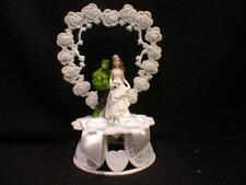 Hulk Groom & Bride Wedding Cake Topper Top Super Hero Heart funny Marvel Funny