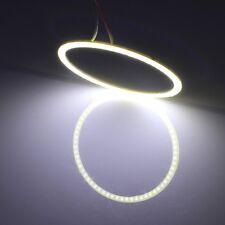 110mm 5W 180LM Angel Eyes Circles Car Headlight White Light COB LED Lights for V