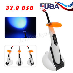 Dental Wireless Cordless LED Curing Light Composite Resin Cure Lamp LED-B USA-OR