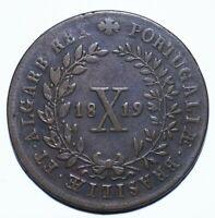 1819 Portugal Ten 10 Reis - Joao VI - Lot 339