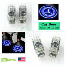 2x Ghost LED Door Courtesy Laser Lights for Mercedes W203 C-Class 2001-2007 Blue