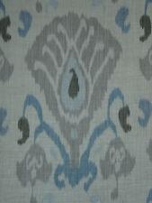 "Zoffany cortina tela diseño ""Annapurna"" 3.7 metros cielo & Lino Town & Country"