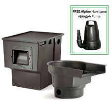 Atlantic Combo Kit Skimmer PS4000 & FilterFalls BF1250 & FREE Alpine 1500 Pump