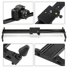 80cm Aluminum Camera Track Slider Rail Dolly Video Stabilizer For DSLR Camcorder