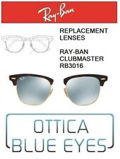 Lenti di Ricambio RAYBAN CLUBMASTER RB3016 Replacement Lenses RAY BAN SILVER 30