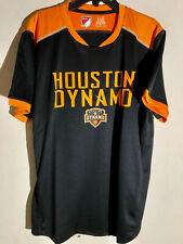 Adidas MLS HOUSTON DYNAMO Black/Orange Team Jersey sz M