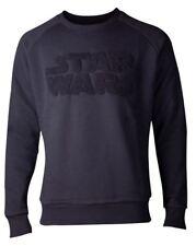 Star Wars-Suéter con el logotipo de Chenille-Macho-Mediano-Negro