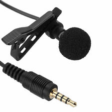 High Quality Clip-on Lapel Mini Lavalier Mic Microphone For Smartphone Reco F7L1