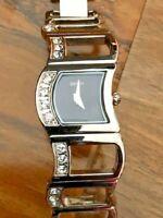 Retro Stylish Contemporary Sekonda Seksy Ladies Stone Set Bracelet Watch 4009s