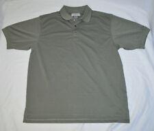 Mercedes-Benz Official Brand Military Green Polo Golf Shirt Mens XL Short Sleeve