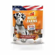 Betsy Farms Natural Jerky Recipe Dog Treats Chicken 24oz Free Shipping