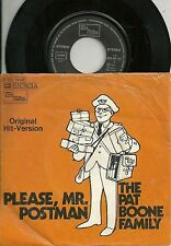 The Pat Boone Family - Please Mr. Postman (1974)  GERMANY 7""