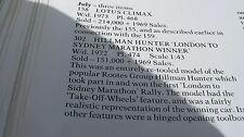 CORGI 302 Hillman Hunter MARATONA quasi set originale come descritto & a un prezzo.