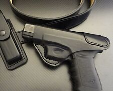 Fits Glock 17,19, 22, 23,24,26,27,31,32,33,34,35,37,38,39 IWB Leather Holster