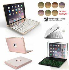 7 Color Backlit Bluetooth Keyboard Case Cover For iPad 9.7 2017 Air 2/1 Mini Pro