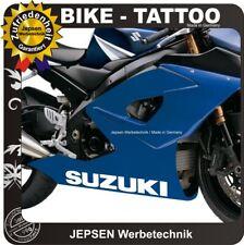 Suzuki Aufkleber 50x7cm Tattooaufkleber für Motorrad und Auto - Farbwahl