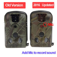 5210A Infrared Scouting Camera Hunting Wildlife Monitor +8GB SD +6V Solar Panel