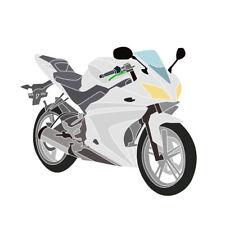 Vollverkleidung (Insgesamt 20 Stück) Unlackiert für Yamaha YZF-R125 2008-2013