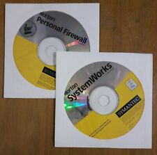Norton System Works and Personal Firewall For Macintosh