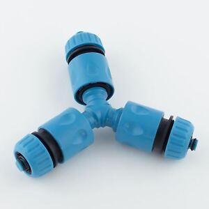 Hozelock Compatible Garden Hose Pipe Splitter Joiner Y Piece Junction Fittings