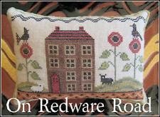 10% Off The Scarlett House counted X-stitch chart - On Redware Road