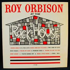 ROY ORBISON-At The Rock House-Rare 1961 First Pressing Album-SUN #LP 1260