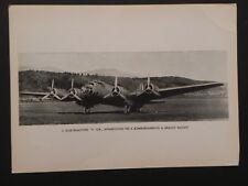 Aviazione Regia Aereonautica militare 1940 aereo quadrimotore P108 Piaggio