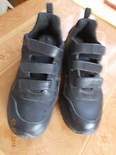Mens Aetrex X903 Black Shoes, Hook & Loop Closures, 9.5W, preworn VG condition
